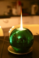 Новогодняя свеча