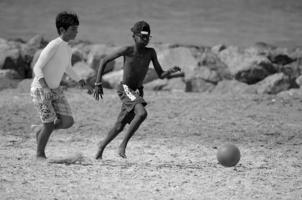 В борьбе за мяч