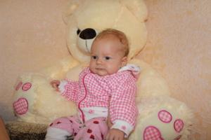 Дарина, 2 месяца