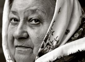 Женщина из Донецка