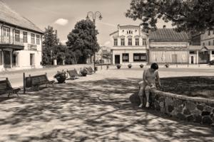 В тихом старом городке