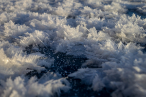Узоры на льду