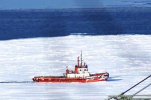 Сквозь лед