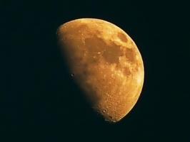 Кратеры-следы бомбардировки Луны