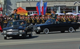 Открытие парада Победы