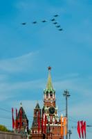 Воздушные асы над Кремлем.