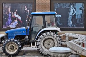 Лучшие трактористки нашего села