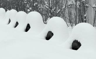 Там,где колёса зимуют!