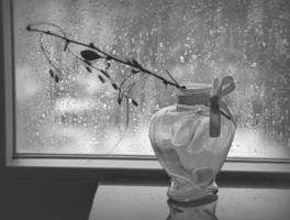 Поплакать любит осень уходя...