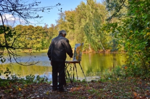 Нарисуй художник осень