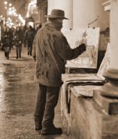 Питерский художник