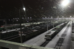 Снежные дороги