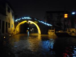 Ночной мост на реке Суджоу