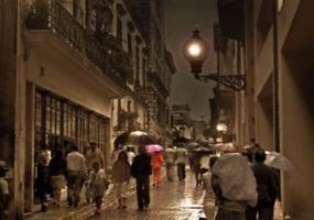 Вечерний дождик