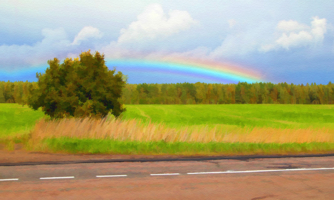 Вдоль радуги