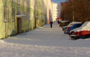 Зима на дворе