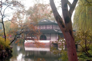 садовый домик по китайски