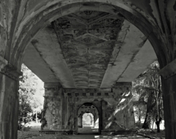 Под животом моста...