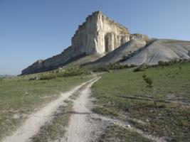 Белая скала Белогорья (Крым)
