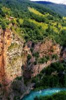 Каньон реки Тара в Черногории.