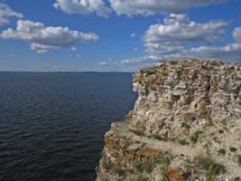 Волга. Девья гора.