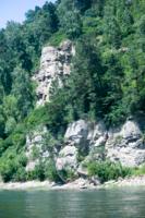 Сибирские скалы.