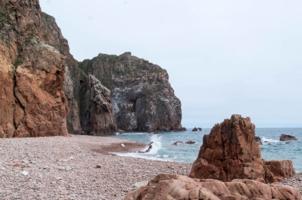 Укромный пляж