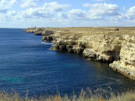 Тарханкутские берега.