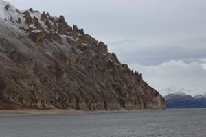 Красота гор в Арктике