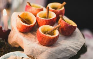 Корица в яблочках