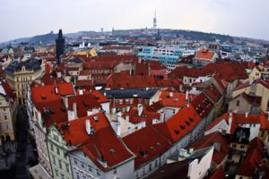Прага в полярных координатах
