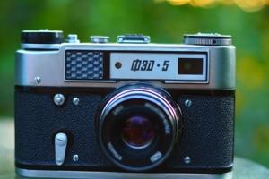 Портрет старого Фотоаппарата