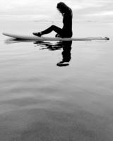 Девушка и океан