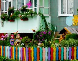 Креативный дворик