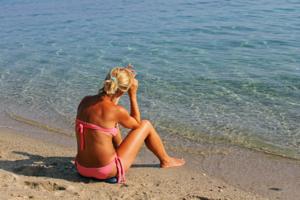 Хорошо у моря:)
