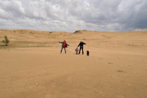 Огромная песочница
