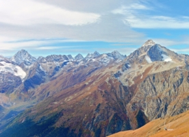 В горах Кавказа...