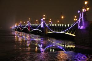 огни большого моста
