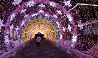 В сказочном тоннеле
