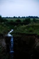 Сельский водопад