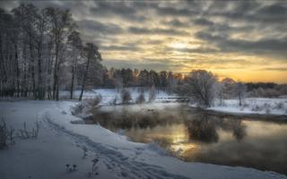 Пехорка зимой