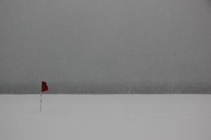 Пляж Кони Айленд .Зима