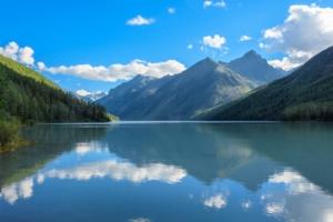 Равновесие на Кучерлинском озере