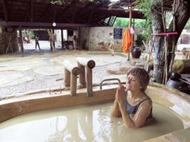 Пачкающая ванна.