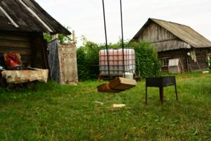 Шашлычки в деревне