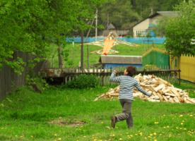 Детство деревенское