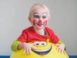 Юный клоун