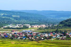 Городок на Урале