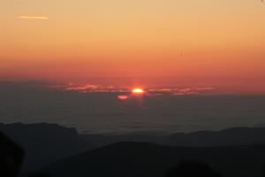 восход на Эльбрусе