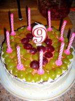 Тортик на 9-летие.